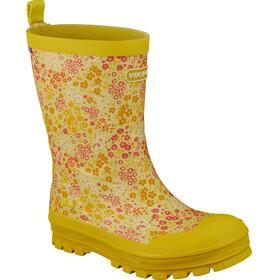 Viking Footwear Mimosa Kalosze Dzieci żółty/czerwony
